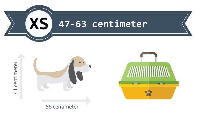 Hondenbench 47-63 cm