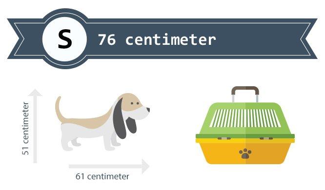 Hondenbench maat 76